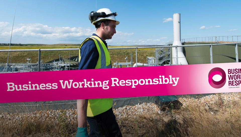 Veolia Ireland awarded the Business Working Responsibly Mark from BITC for sustainability and corporate responsibility