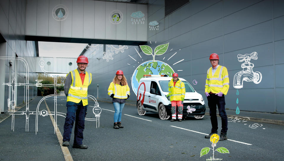 Veolia Ireland Sustainability Report 2019 front cover