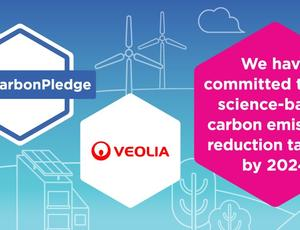 Veolia commits to the Low Carbon Pledge