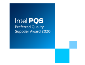 Veolia received Intel PQS award for 2020