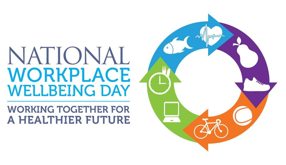 Workplace wellbeing day logo