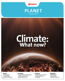 Cover of Planet Magazine 17 Climate change