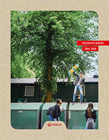 Cover of Veolia's 2019 Integrated Report